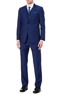 PAUL SMITH LONDON Byard slim-fit three-piece suit