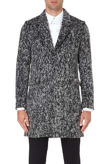 PAUL SMITH MAINLINE Textured wool-blend coat
