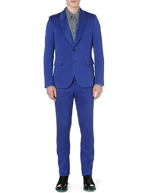 PAUL SMITH MAINLINE Masters wool and silk-blend suit