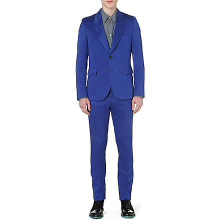PAUL SMITH MAINLINE Masters wool and silk-blend suit (Blue