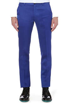 PAUL SMITH MAINLINE Masters wool and silk-blend trousers