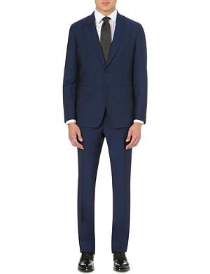 PAUL SMITH LONDON Slim-fit wool-mohair blend suit