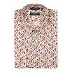 PAUL SMITH LONDON Mushroom-print single-cuff stretch-cotton shirt
