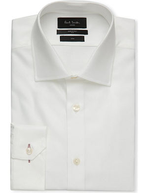 PAUL SMITH LONDON Soho-fit single-cuff cotton-twill shirt