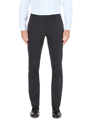 PAUL SMITH LONDON Slim-fit stretch-cotton chinos