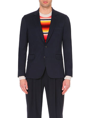 PAUL SMITH MAINLINE Slim-fit wool jacket