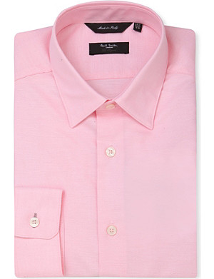 PAUL SMITH LONDON Byard slim-fit oxford-cotton shirt