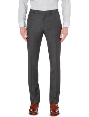 PAUL SMITH LONDON Slim-fit tapered wool trousers