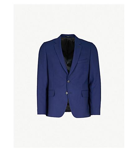 PAUL SMITH Soho-fit wool jacket (Brt+blue