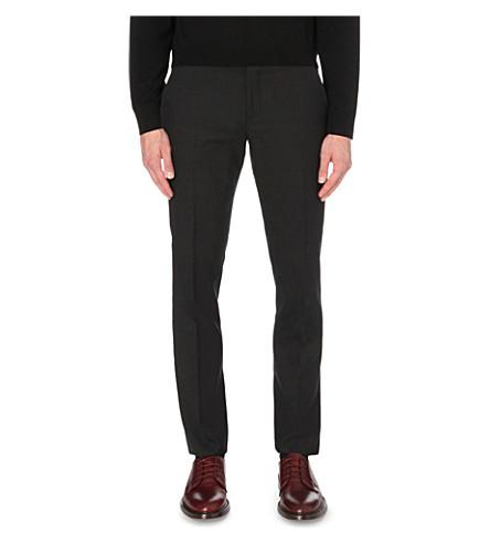 PAUL SMITH Soho-fit cotton travel suit pants (Charcoal