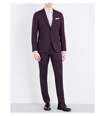 PAUL SMITH Kensington wool suit (Burgundy
