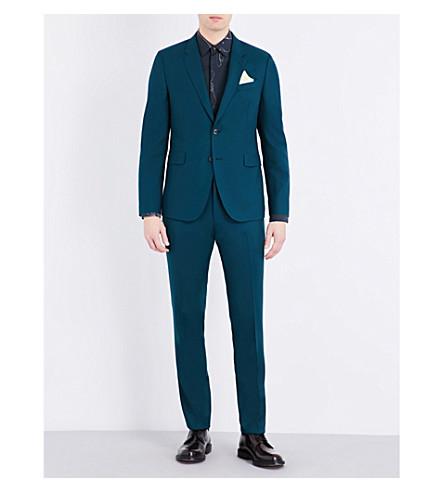 PAUL SMITH Kensington wool suit (Green