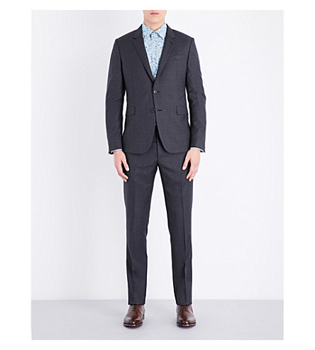 PAUL SMITH Kensington-fit wool suit (Grey