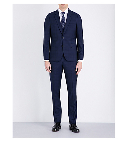 PAUL SMITH Soho-fit wool suit (Navy