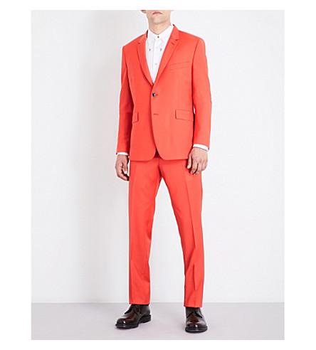 PAUL SMITH Kensington-fit wool and mohair-blend suit (Bright+orange
