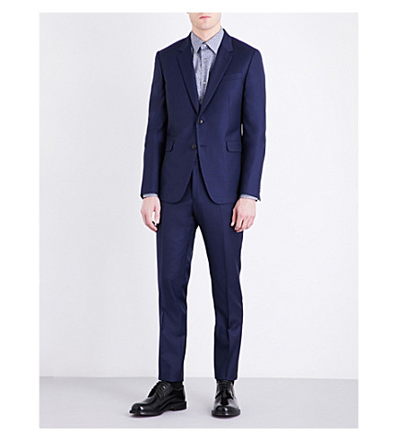 PAUL SMITH Kensington-fit wool suit (Blue