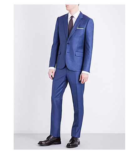 PAUL SMITH Soho-fit wool suit (Blue