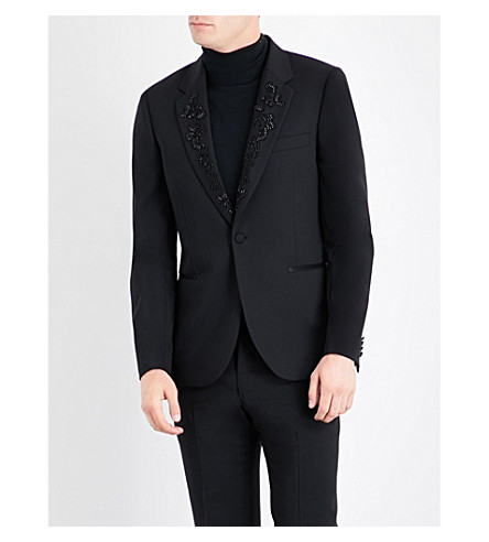 PAUL SMITH Soho stretch-wool blazer (Black