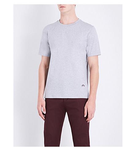PAUL SMITH Rainbow-detail cotton-jersey T-shirt (Multi