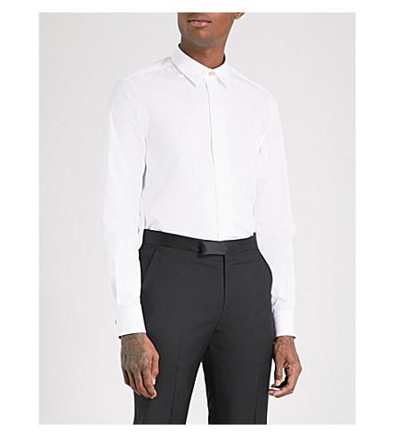 PAUL SMITH Soho slim-fit cotton shirt (White