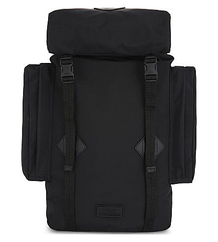POLO RALPH LAUREN Logo nylon backpack (Black