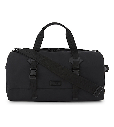 POLO RALPH LAUREN Logo nylon duffle bag (Black