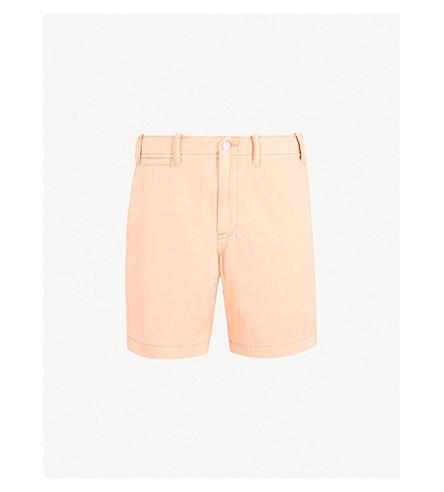 POLO RALPH LAUREN Relaxed-fit cotton shorts (Fair+orange