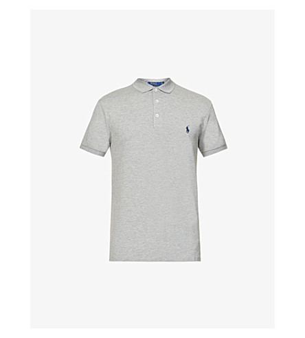 piqué POLO Polo en fit Heather LAUREN RALPH Andover algodón slim y frwqf8xZ