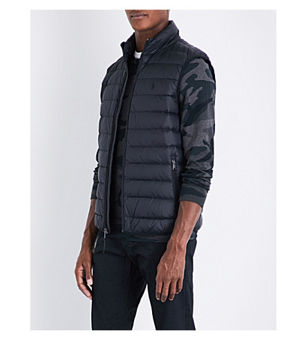 POLO RALPH LAUREN Quilted shell gilet (Polo+black
