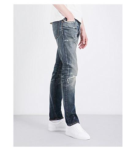 POLO RALPH LAUREN Sullivan slim-fit tapered jeans (Harrington+repa