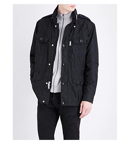POLO RALPH LAUREN Flap-pocket shell jacket (Polo+black