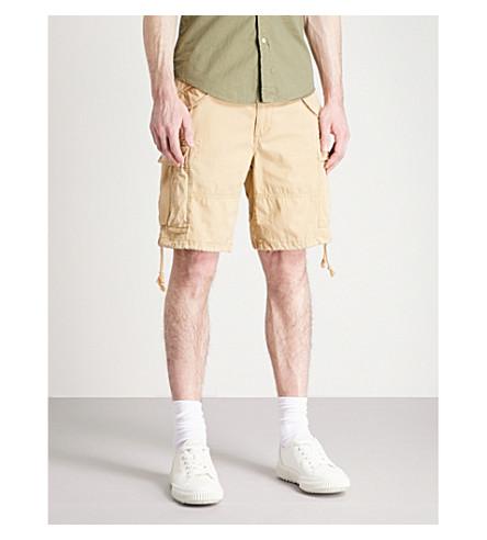 Shorts corte clásico LAUREN POLO Newport de Tan de RALPH Luxury de algodón 7axwEYx