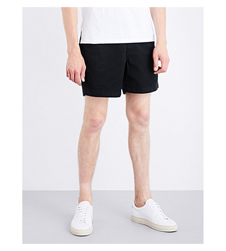POLO RALPH LAUREN Classic-fit stretch-cotton shorts (Polo+black