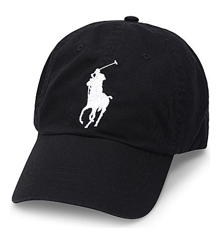 POLO RALPH LAUREN Logo cotton cap (Polo black