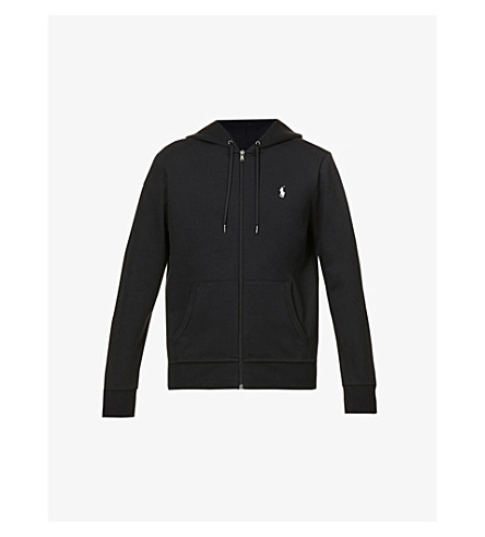 POLO RALPH LAUREN Logo zip-up hoody (Polo+black