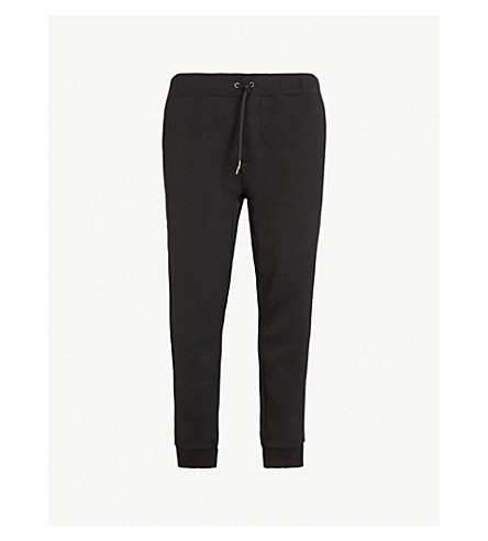 POLO RALPH LAUREN Logo skinny jersey jogging bottoms (Polo+black