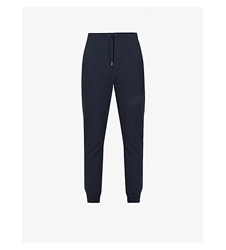 POLO RALPH LAUREN Logo skinny jersey jogging bottoms (Aviator+navy