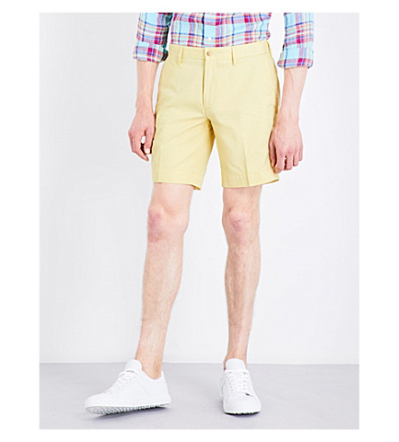 POLO RALPH LAUREN Straight-fit cotton shorts (Corn