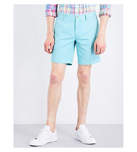POLO RALPH LAUREN Straight-fit cotton shorts (Adirondack+lake