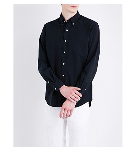 POLO RALPH LAUREN Logo cotton shirt (Polo+black