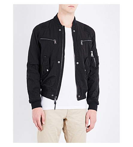 POLO RALPH LAUREN Shell bomber jacket (Polo+black