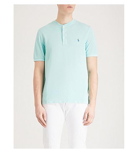 ajustado en algodón verde POLO LAUREN Polo RALPH piqué y Bayside qOwpxtP6nW