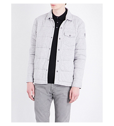 POLO RALPH LAUREN Quilted cotton-blend jacket (Spring+heather