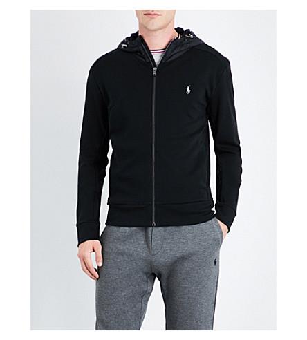 POLO RALPH LAUREN Full-zip cotton jacket (Polo+black