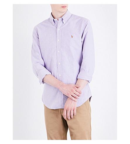 POLO RALPH LAUREN Slim-fit cotton Oxford shirt (1829a+concord/w
