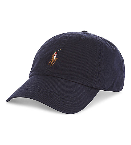 POLO RALPH LAUREN Pony cotton baseball cap (Relay+blue+w/+m