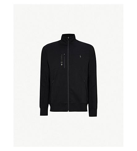 POLO RALPH LAUREN Branded tech-jersey sweatshirt (Polo+black
