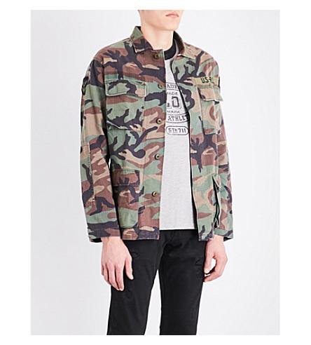 POLO RALPH LAUREN Airborne camouflage cotton jacket (1956+rl+camo+pr