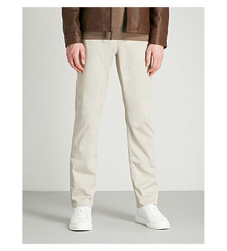 POLO RALPH LAUREN 精裁版型直牛仔裤 (楠塔基特 + 灰色