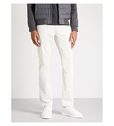 POLO RALPH LAUREN Slim-fit cotton blend chinos (Light+pumice